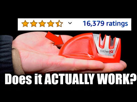 I Bought The Most Reviewed Knife Sharpener On Amazon