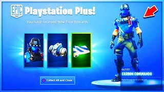 "HOW DÉBLOQUER the SKIN FREE ""PLAYSTATION PLUS"" on Fortnite!"