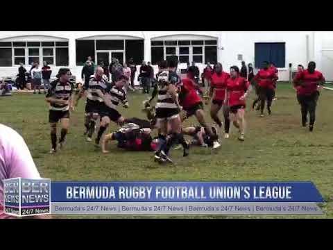 Bermuda Rugby Football Union League Action, Nov 24 2018