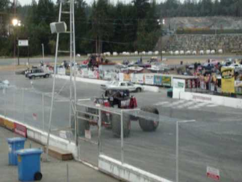 Monster truck Time Flys At Western Speedway Part 2