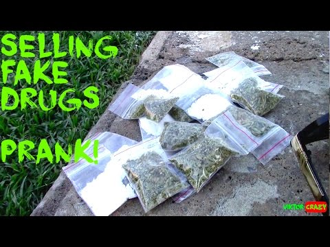 SELLING FAKE DRUGS PRANK ! HOW YOU CAN GET MONEY IN ANY COUNTRY IN
