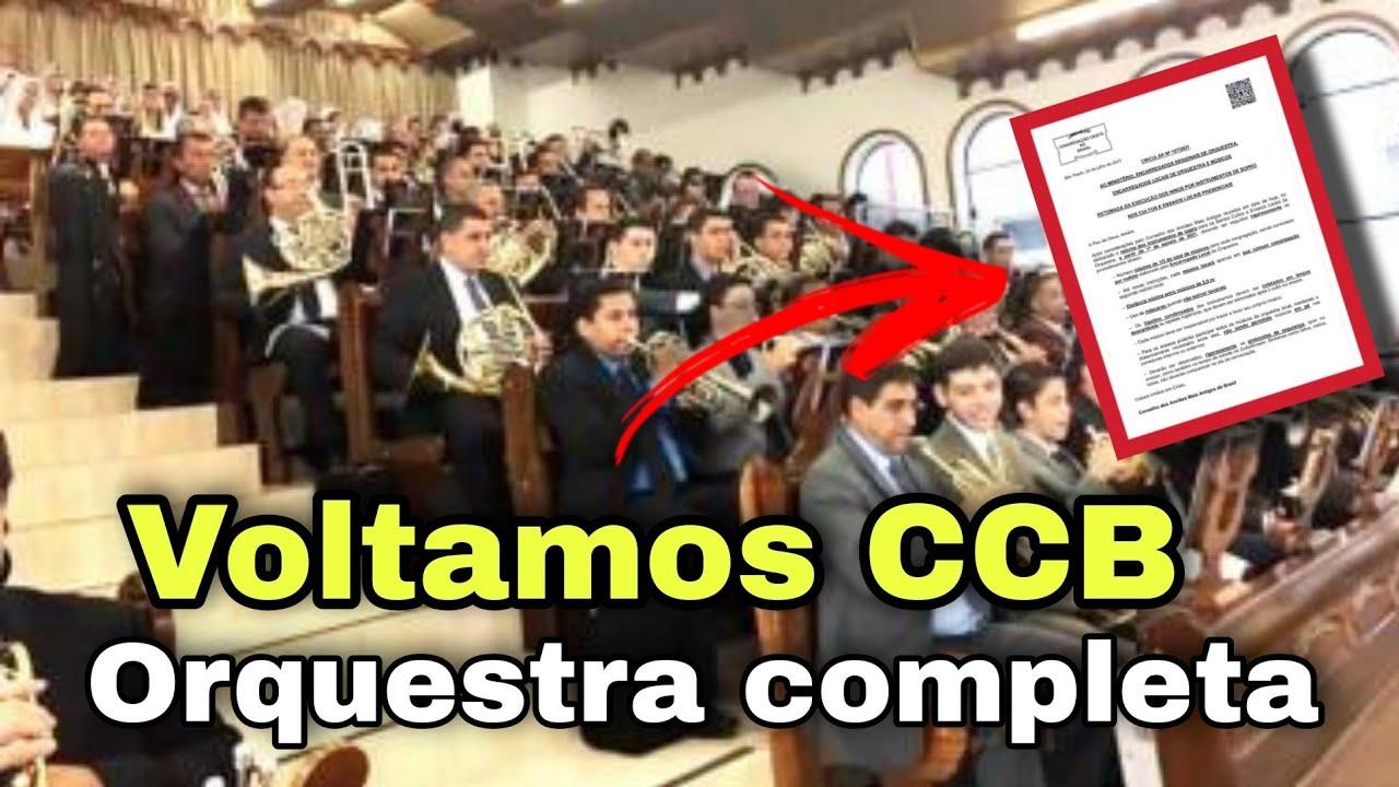 Orquestra CCB Voltou Instrumentos De Sopro 😭😭