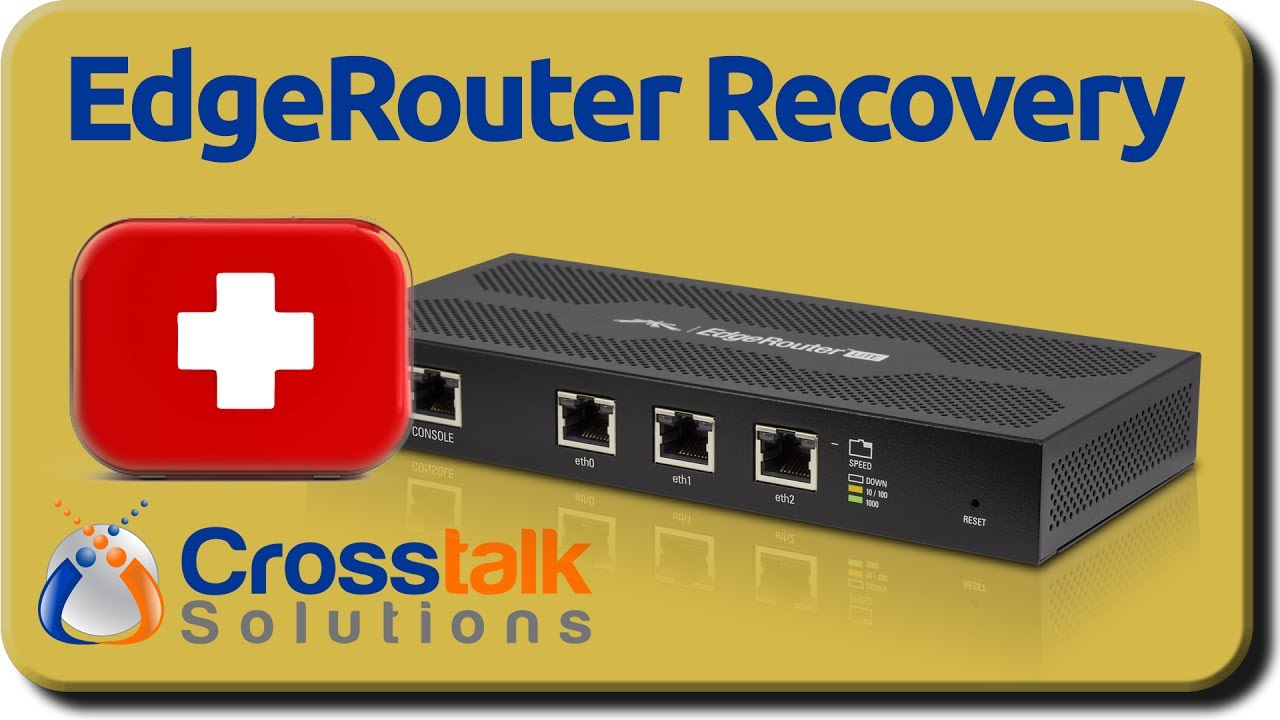EdgeRouter Recovery