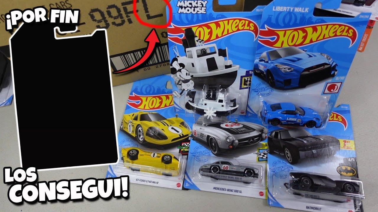 Ya esta aqui todo lo chido | Hot Wheels Caja / Case L 2021, Disney Steamboat, LB Works Nissan GTR