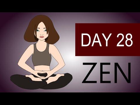 Zen Meditation - Guided Zen Buddhism Meditation Zazen - Day 28