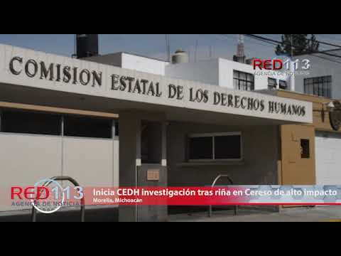 VIDEO Inicia CEDH investigación tras riña en Cereso de alto impacto