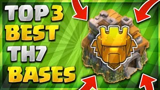 """UNSTOPPABLE!"" TOP 3 BEST TOWN HALL 7 (TH7) TROPHY/DEFENSIVE BASE DESIGN 2019 - Clash Of Clans"