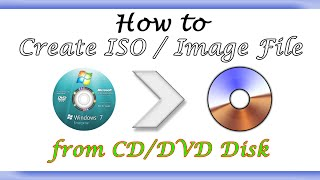 How to Create ISO Image from CD/DVD? Using UltraISO