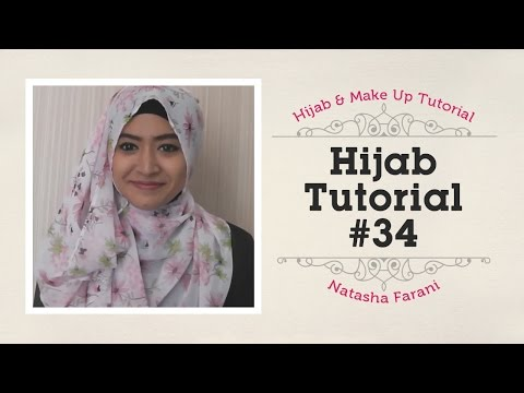Hijab Tutorial - Natasha Farani #34
