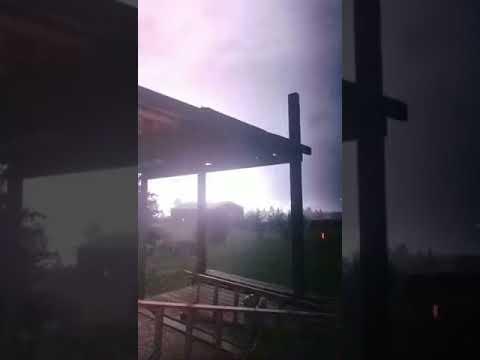 News   Watford City Storm Video