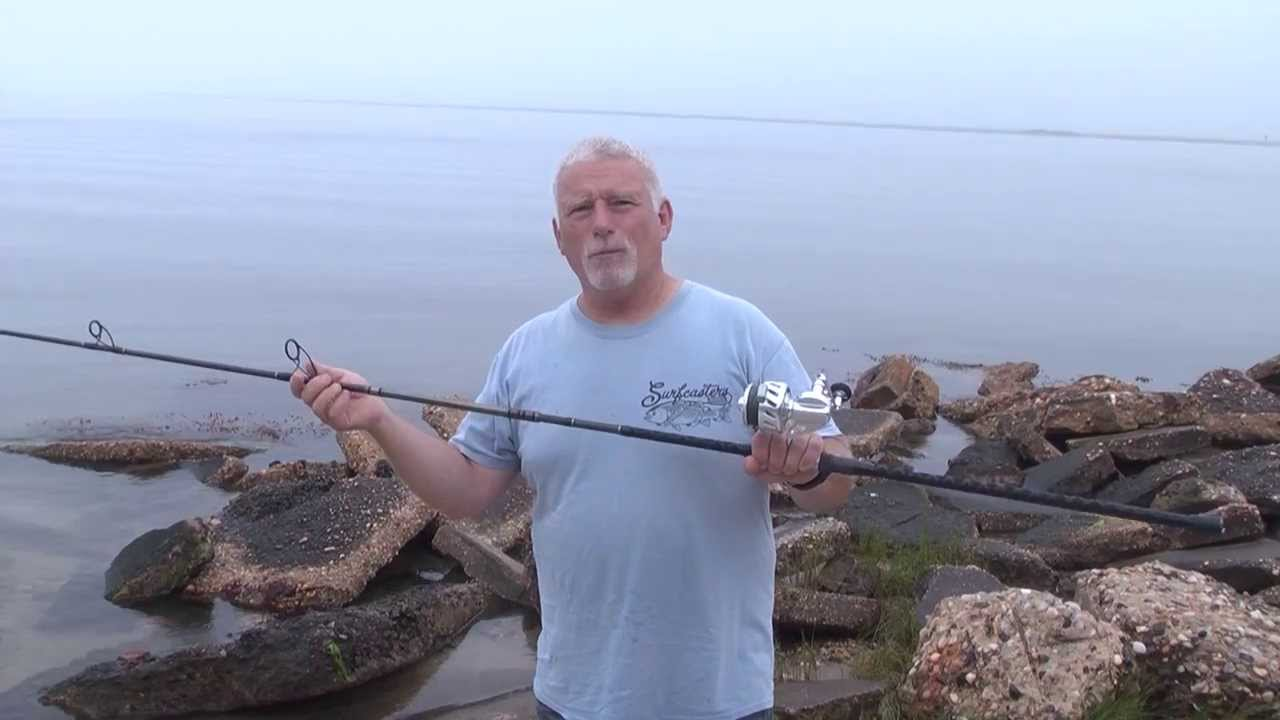How to put together two piece surf rod with surfcaster 39 s for Best surf fishing rods