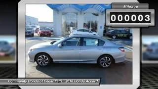 2016 Honda Accord Cedar Falls IA H9582