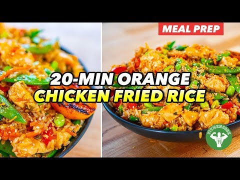 20-Minute Mango Chicken Bowls