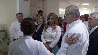 Visita Gobernadora Hospital General de Caborca
