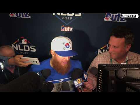 2019 NLDS: Justin Turner, Dodgers surprised by Stephen Strasburg's curveball in Game 2 loss