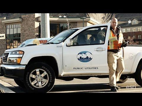 Esri Case Study: Salt Lake City, Utah–Public Utilities
