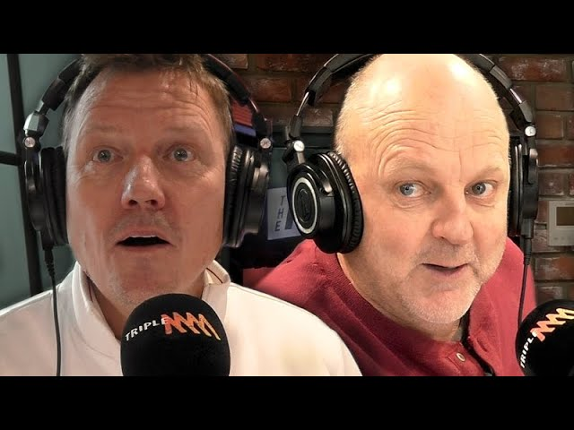 Billy Brownless Tells A Chris Hemsworth Joke   Rush Hour with JB & Billy   Triple M