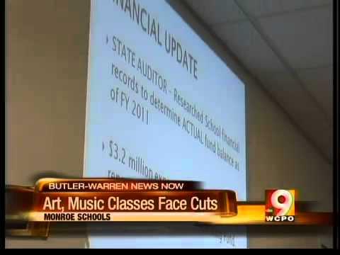 Music, art cut from Monroe schools
