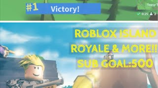 GIVEAWAY ROBLOX LIVE STREAM GOAL 500 SUBS|🔴🔴🔴