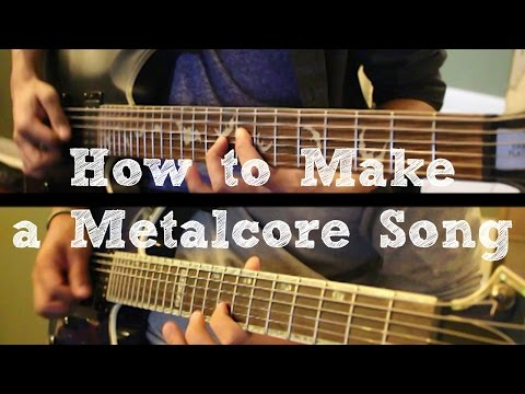 How To: Make a Metalcore Song in 6 Min or Less (+ Full Song at the End) || Shady Cicada