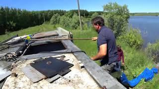 Запуск рыбы июнь 2018 в пруд Головищи на рыбалке у Звягина!