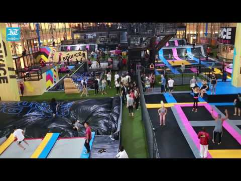 Bounce free-jumping revolution in Abu Dhabi