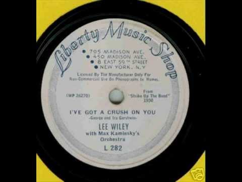 I've Got A Crush On You- Lee Wiley and Fats Waller