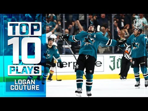 Top 10 Logan Couture plays from 2018-19