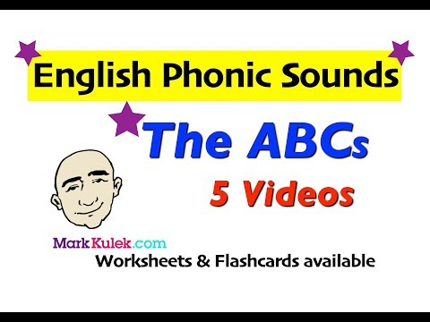 English Phonic Sounds - The Alphabet | English Pronunciation For Communication | ESL