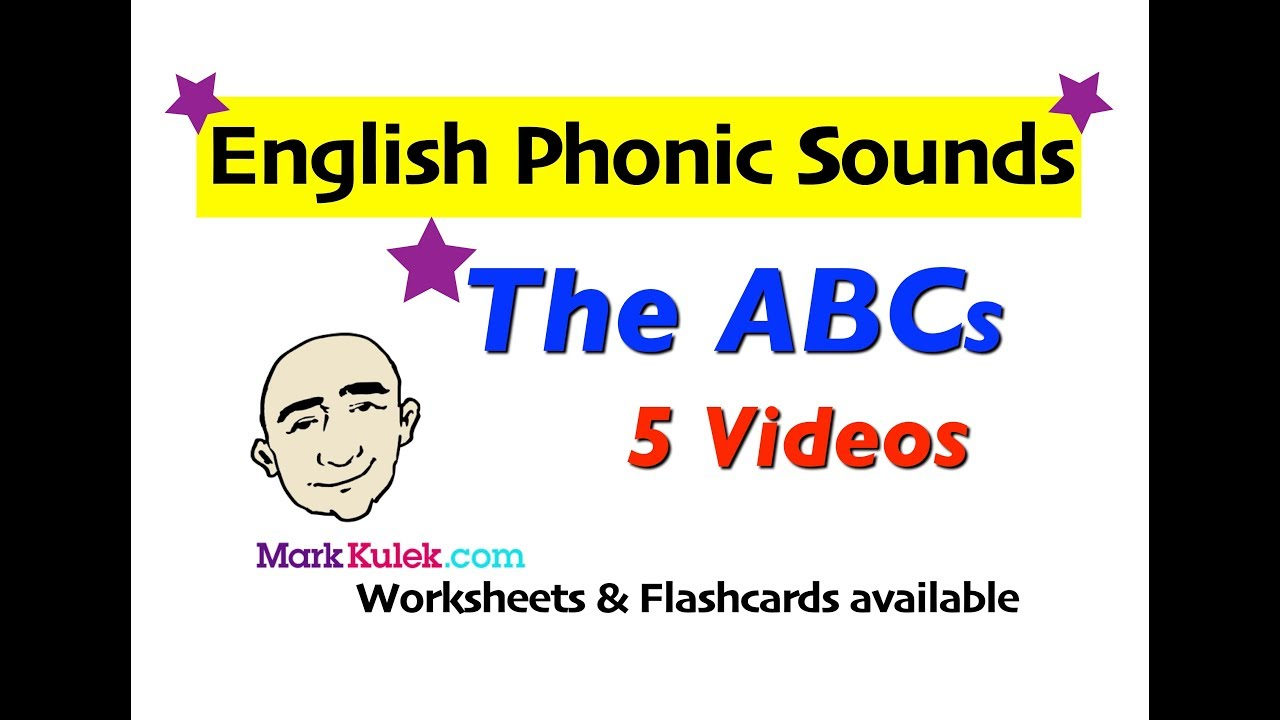 English Phonic Sounds - The Alphabet | English Pronunciation For ...