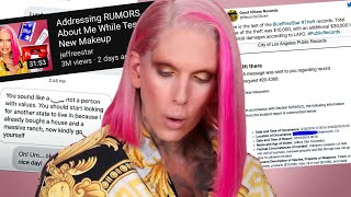 Jeffree Star ADDRESSES the DRAMA in new video...