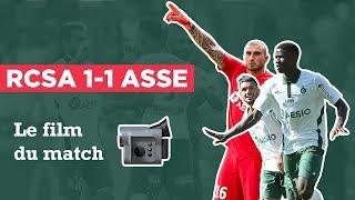 Strasbourg 1-1 ASSE : le film de match