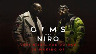 GIMS - Ceci n'est pas du rap (feat. Niro) (Making of)