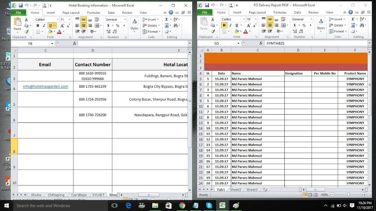 Open Multiple Spreadsheets Workbooks Within One Instance Of Excel