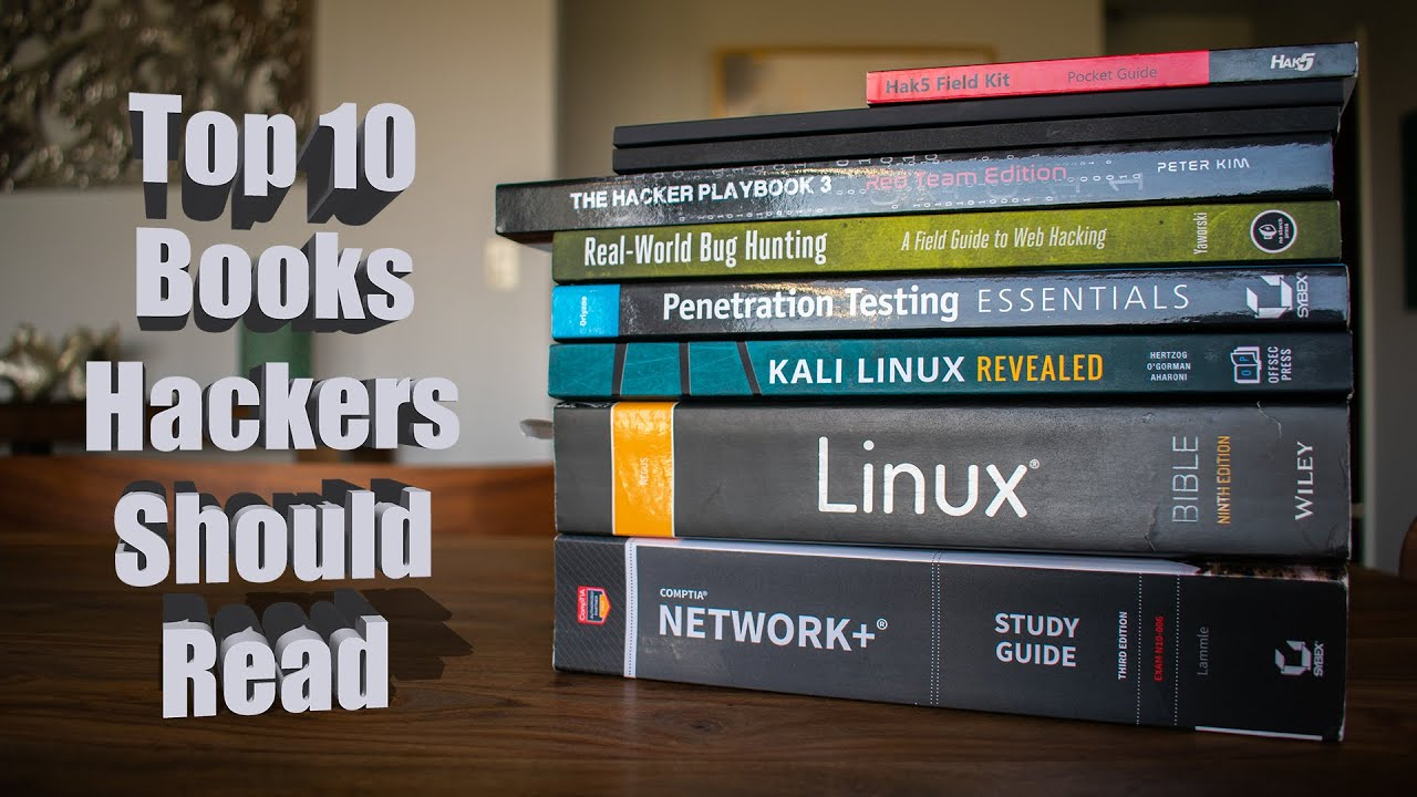 Top 10: Best Books For Hackers