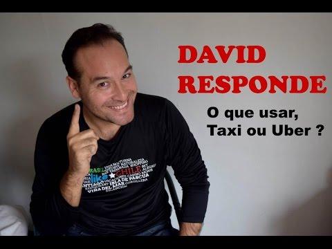 David responde: taxi ou Uber em Santiago?