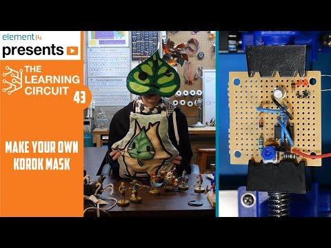 Zelda Korok Mask with DC Motors - The Learning Circuit