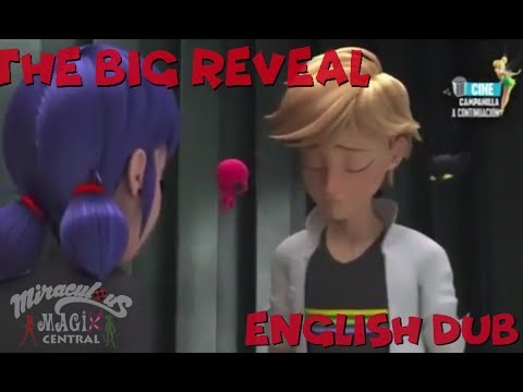 """THE BIG REVEAL"" English Fandub Miraculous Ladybug Season 2 Episode 8"