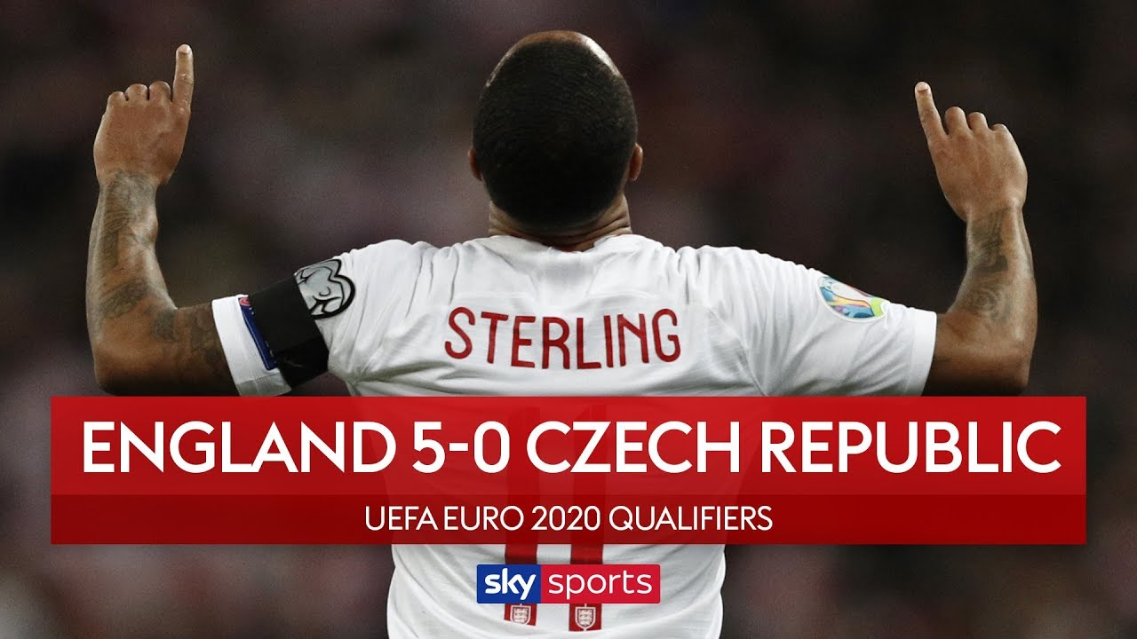 Sterling scores stunning hat-trick! | England 5-0 Czech Republic | Highlights | European Qualifiers