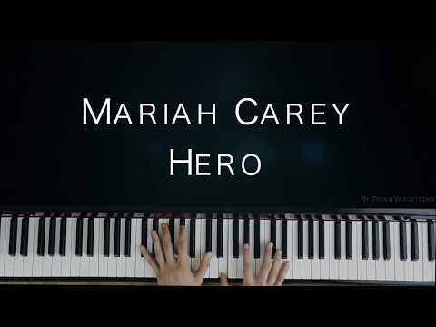 Piano Cover | Mariah Carey - Hero (By PianoVariations)
