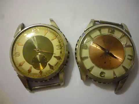817c4823cd8a LOTE DE 2 RELOJES BOLA DE LUXE Y AGON DE LUXE INCOMPLETOS - YouTube