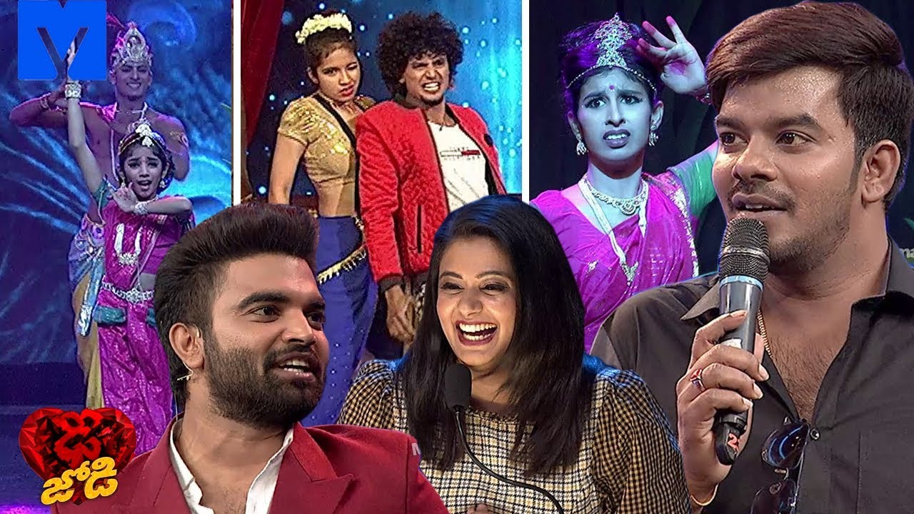 Dhee Jodi Latest Promo - Dhee 11 - 20th March 2019 - Sudheer,Priyamani,Rashmi,Poorna - Mallemalatv