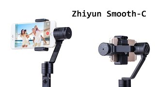 Обзор и тест 3-х осевого стабилизатора Zhiyun Smooth-C