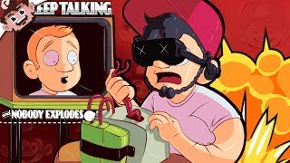 SARK & CHILLED in...VIRTUAL REALITY BOMB DEFUSING! (Keep Talking and Nobody Explodes VR)