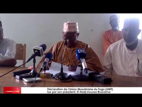 L'Union musulmane du Togo s'est prononcée sur la situation sociopolitique du pays ce jour