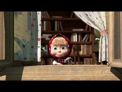 Мультфильм Игра Маша и Медведь Машины сказки Гуси Лебеди #2