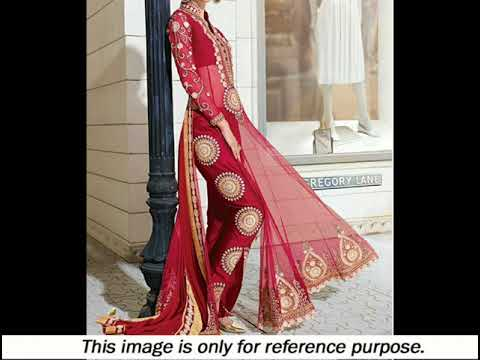 TOP 5 Latest Best Designer Churidar Salwar Suit 2017/2018