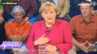 ☺☺ Angela Merkel beim SUPERTALENT
