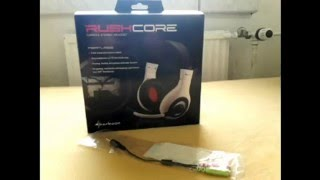 Sharkoon RushCore Headset review + Mikro Test