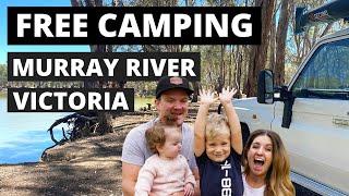 FREE CAMPING on tнe Murray River Victoria! [ Echuca - Swan Hill - Nyah ]